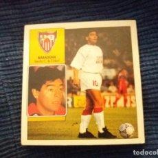 Cromos de Fútbol: 92/93 ESTE. NUNCA PEGADO COLOCA SEVILLA MARADONA . Lote 145793642