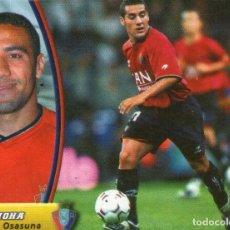 Cromos de Fútbol: MOHA (C.AT. OSASUNA) - CAMPEONATO DE LIGA 03/04 - EDICIONES ESTE - NUNCA PEGADO.. Lote 145805834