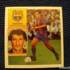 Cromos de Fútbol: 92/93 ESTE. POCA SEÑAL DE NUNCA PEGADO BARCELONA BEGIRISTAIN BEGUIRISTAIN. Lote 145876730