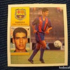 Cromos de Fútbol: 92/93 ESTE. BARCELONA GUARDIOLA . Lote 145876838