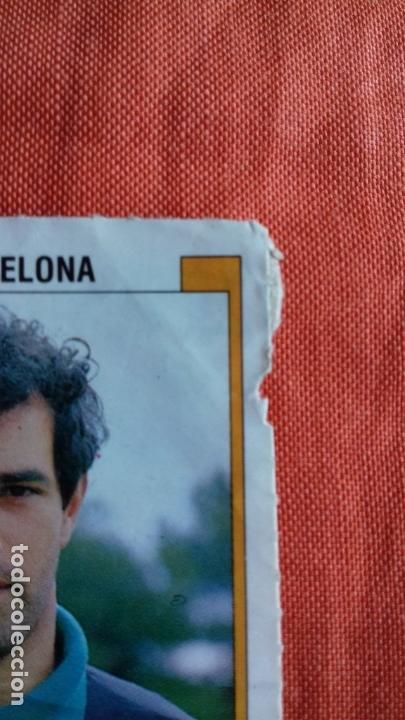 Cromos de Fútbol: Coleccion Futbol 88. Cromo obsequio numero 45. ZUBIZARRETA.F.C.BARCELONA. Panini. - Foto 2 - 145975446