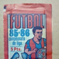 Cromos de Fútbol: SOBRE CROMOS FUTBOL 85-86 CAMPEONATO DE LIGA CERRADO. Lote 148732133