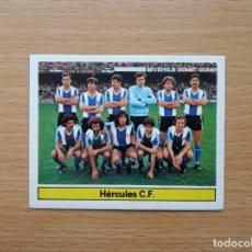 Cromos de Fútbol: ALINEACION HERCULES CF EDICIONES ESTE 1981 1982 LIGA 81 82 CROMO NUEVO SIN PEGAR NUNCA PEGADO. Lote 146175802