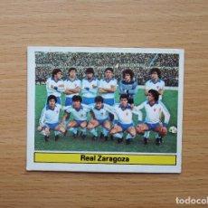 Cromos de Fútbol: ALINEACION REAL ZARAGOZA EDICIONES ESTE 1981 1982 LIGA 81 82 CROMO FUTBOL SIN PEGAR NUNCA PEGADO. Lote 146176434