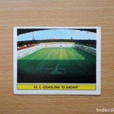Cromos de Fútbol: EL SADAR CAMPO OSASUNA EDICIONES ESTE 1981 1982 LIGA 81 82 CROMO FUTBOL SIN PEGAR NUNCA PEGADO. Lote 146176562