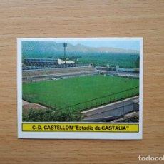 Cromos de Fútbol: ESTADIO DE CASTALIA CAMPO CASTELLON EDICIONES ESTE 1981 1982 81 82 CROMO SIN PEGAR NUNCA PEGADO. Lote 146176862