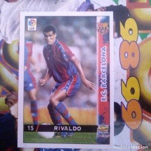 15 RIVALDO DIFÍCIL - MUNDICROMO MC SPORT - FICHAS LIGA 1998 1999 98 99 LFP