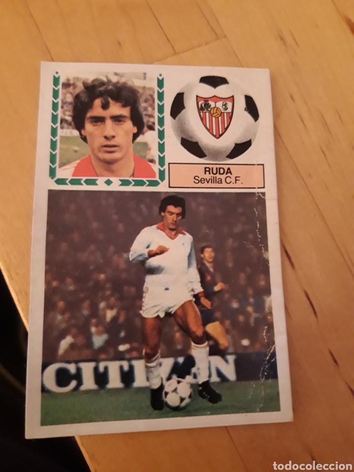 ESTE 1983 1984 84 83 DESPEGADO RUDA SEVILLA (Coleccionismo Deportivo - Álbumes y Cromos de Deportes - Cromos de Fútbol)