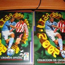 Cromos de Fútbol: COLECCIÓN COMPLETA SIN PEGAR ESTE 2001 2002 01 02 + ÁLBUM PLANCHA - EN EXCELENTE ESTADO. Lote 146511978