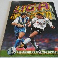 Cromos de Fútbol: COLECCIÓN COMPLETA SIN PEGAR ESTE 2000 2001 00 01 + ÁLBUM PLANCHA - EN EXCELENTE ESTADO. Lote 146516590