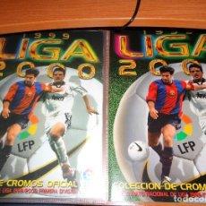 Cromos de Fútbol: COLECCIÓN COMPLETA SIN PEGAR ESTE 1999 2000 99 00 + ÁLBUM PLANCHA - EN EXCELENTE ESTADO. Lote 146517334
