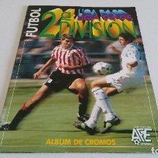 Cromos de Fútbol: COLECCIÓN COMPLETA SIN PEGAR ESTE 1994 1995 94 95 (2ª DIVISIÓN + ÁLBUM PLANCHA - EN EXCELENTE ESTADO. Lote 146518398