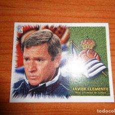 Cromos de Fútbol: COLOCA CLEMENTE R. SOCIEDAD EDICIONES ESTE 1999 2000 99 00 SIN PEGAR EN EXCELENTE ESTADO. Lote 146518822