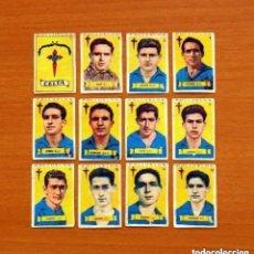 Cromos de Fútbol: CELTA DE VIGO - EQUIPO COMPLETO - AZAFRÁN POLLUELOS 1949-1950, 49-50 - NOVELDA - NUNCA PEGADOS. Lote 146537394