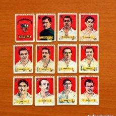 Cromos de Fútbol: SEVILLA - EQUIPO COMPLETO - AZAFRÁN POLLUELOS 1949-1950, 49-50 - NOVELDA - NUNCA PEGADOS. Lote 146539138