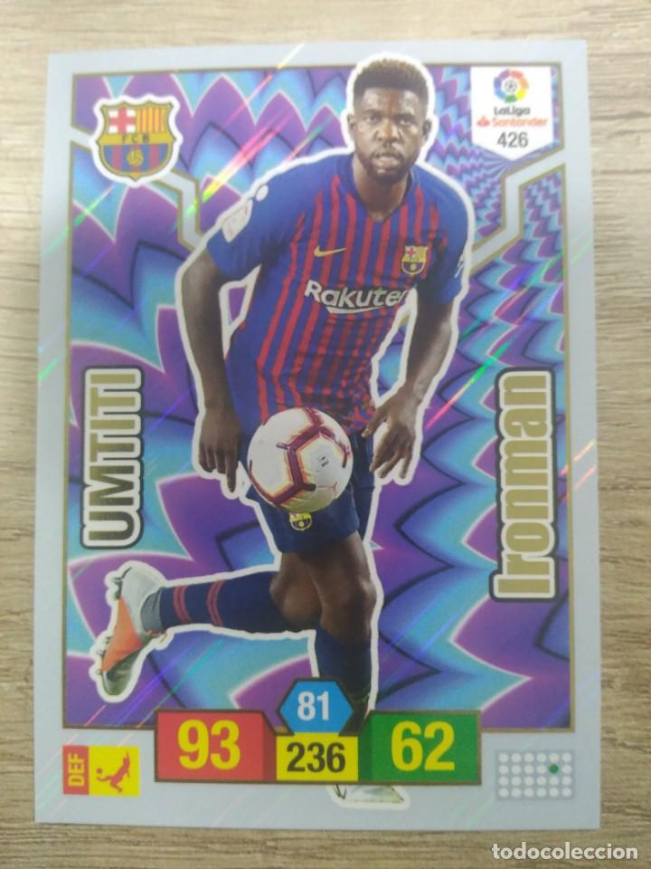 426 UMTITI BARCELONA IRONMAN ADRENALYN XL PANINI 2018 2019 18 19 (Collectable Sport - Sticker Albums and Stickers - Football Stickers)