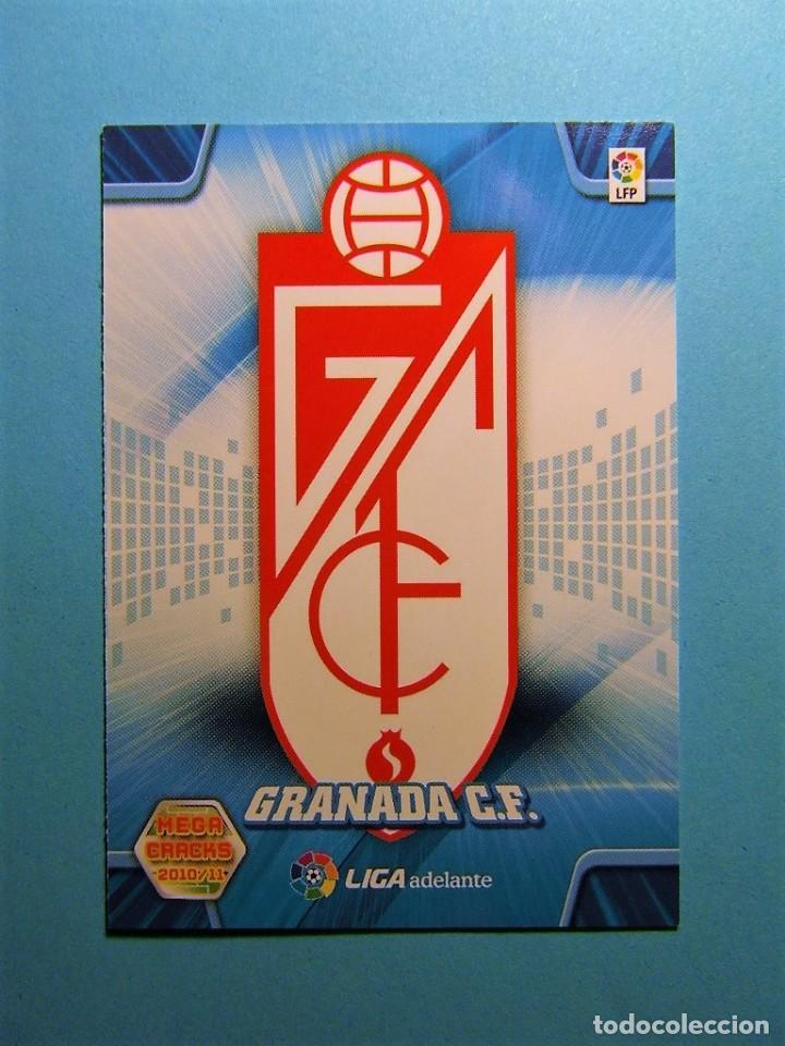 MEGACRACKS 2010 2011 10 11 ESCUDO GRANADA 433 (Coleccionismo Deportivo - Álbumes y Cromos de Deportes - Cromos de Fútbol)