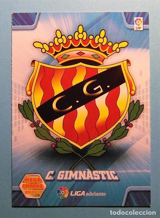 MEGACRACKS 2010 2011 10 11 ESCUDO GIMNASTIC DE TARRAGONA 432 (Coleccionismo Deportivo - Álbumes y Cromos de Deportes - Cromos de Fútbol)