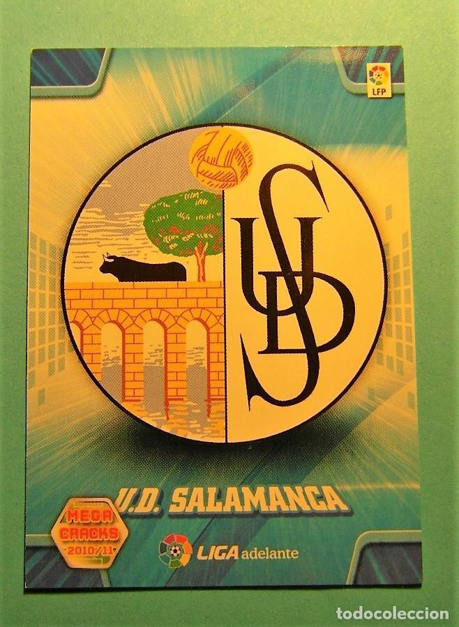 MEGACRACKS 2010 2011 10 11 ESCUDO SALAMANCA 430 (Coleccionismo Deportivo - Álbumes y Cromos de Deportes - Cromos de Fútbol)