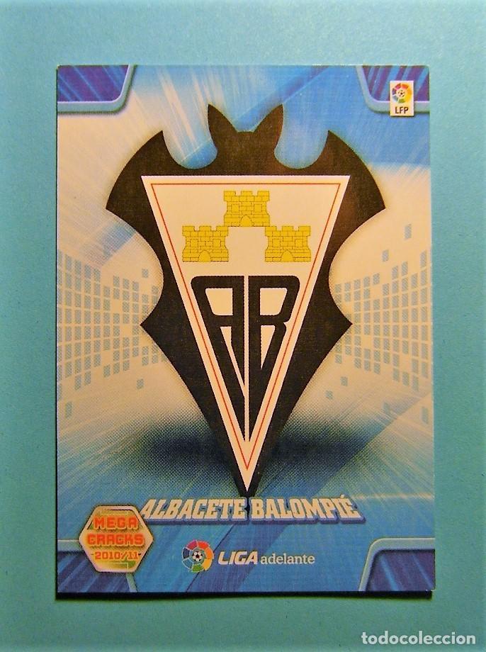 MEGACRACKS 2010 2011 10 11 ESCUDO ALBACETE 429 (Coleccionismo Deportivo - Álbumes y Cromos de Deportes - Cromos de Fútbol)