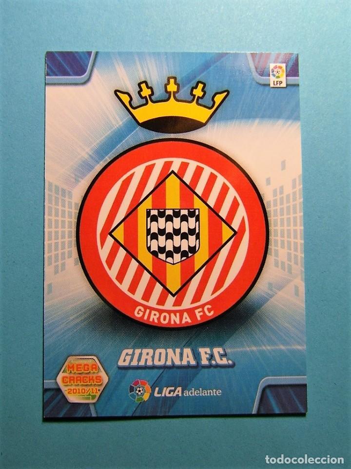 MEGACRACKS 2010 2011 10 11 ESCUDO GIRONA 428 (Coleccionismo Deportivo - Álbumes y Cromos de Deportes - Cromos de Fútbol)