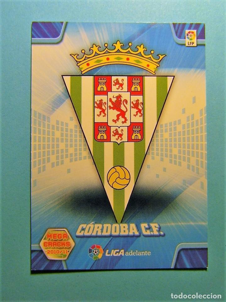 MEGACRACKS 2010 2011 10 11 ESCUDO CORDOBA 424 (Coleccionismo Deportivo - Álbumes y Cromos de Deportes - Cromos de Fútbol)