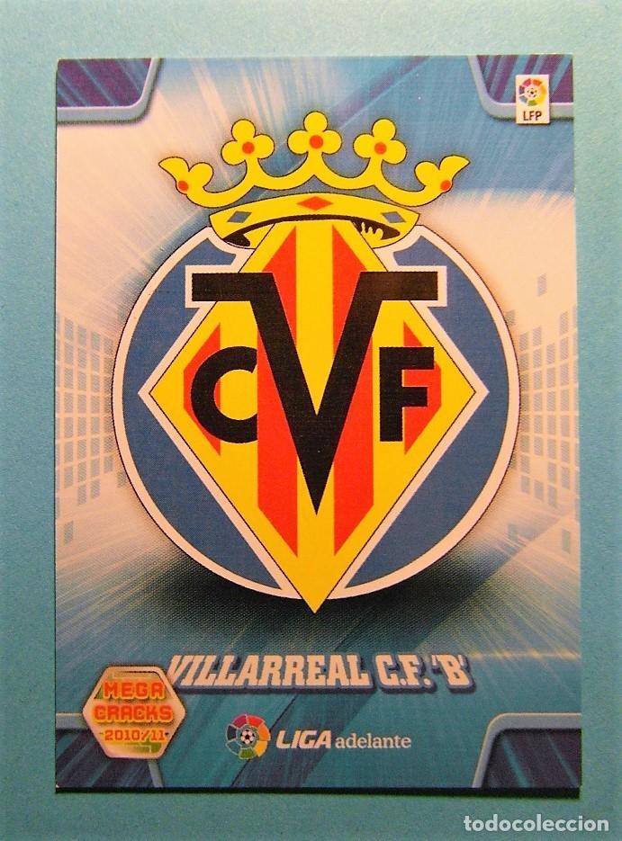 MEGACRACKS 2010 2011 10 11 ESCUDO VILLARREAL 421 (Coleccionismo Deportivo - Álbumes y Cromos de Deportes - Cromos de Fútbol)
