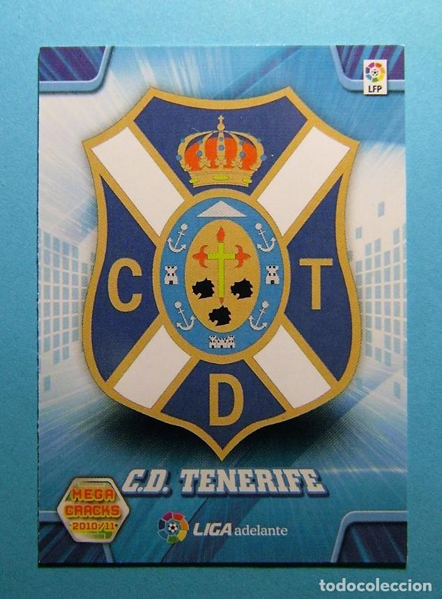 MEGACRACKS 2010 2011 10 11 ESCUDO TENERIFE 416 (Coleccionismo Deportivo - Álbumes y Cromos de Deportes - Cromos de Fútbol)