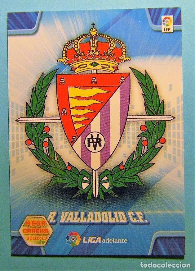 MEGACRACKS 2010 2011 10 11 ESCUDO VALLADOLID 415 (Coleccionismo Deportivo - Álbumes y Cromos de Deportes - Cromos de Fútbol)