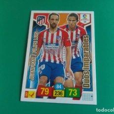 Cromos de Fútbol: 54 DÚOS IMPARABLES - ATLÉTICO MADRID - CROMO ADRENALYN XL 2018-19 - 18/19 (NUEVO). Lote 152038854
