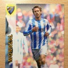 Cromos de Fútbol: 2012-2013 - 87 MONREAL - MALAGA CF - MUNDICROMO OFFICIAL QUIZ GAME. Lote 146643058
