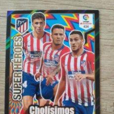 Cromos de Fútbol: 434 CHOLÍSIMOS ATLÉTICO MADRID SUPER HÉROES ADRENALYN XL PANINI 2018 2019 18 19. Lote 155714074