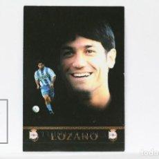 Cromos de Fútbol: FICHA LIGA 1999 / 2000 MUNDICROMO - Nº 425 TURU FLORES, DEPORTIVO CORUÑA - ERROR EN EL NOMBRE. Lote 146867934