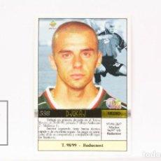 Cromos de Fútbol: FICHA LIGA 1999 / 2000 MUNDICROMO - Nº 598 DJOKAJ R.C.D MALLORCA - ERROR IMPRESIÓN. Lote 146869370