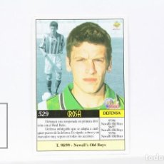 Cromos de Fútbol: FICHA LIGA 1999 / 2000 MUNDICROMO - Nº 529 CROSA REAL BETIS - ERROR . Lote 146885534