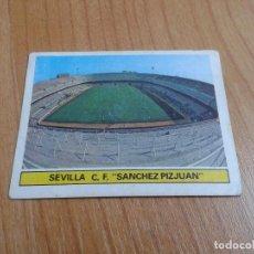 Cromos de Fútbol: SÁNCHEZ PIZJUAN -- SEVILLA -- ESTADIO -- 81/82 -- ESTE -- RECUPERADO. Lote 146907178