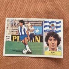Cromos de Fútbol: EDICIONES ESTE 86 87 ROBI COLOCA ESPAÑOL 1986 1987. Lote 146980482