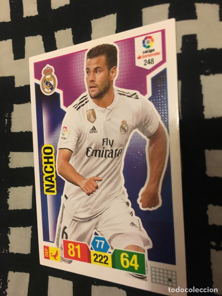 newest e5944 a2435 Adrenalyn 18 19 2018 2019 real madrid adrenalyn XL Nacho 248