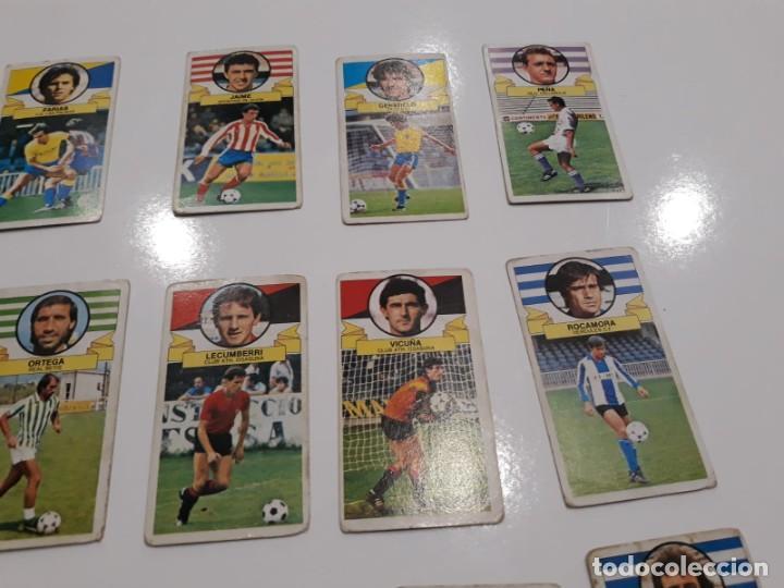 Cromos de Fútbol: Lote de 40 cromos de la liga este 1985-1986 85-86 (Ver descripción) - Foto 4 - 147112818