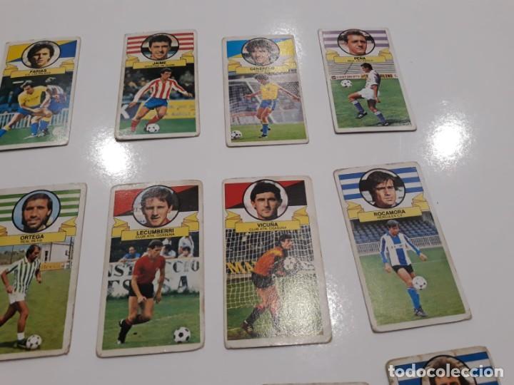 Cromos de Fútbol: Lote de 40 cromos de la liga este 1985-1986 85-86 (Ver descripción) - Foto 6 - 147112818