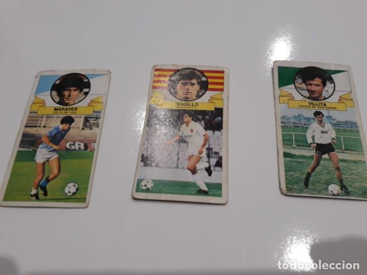 Cromos de Fútbol: Lote de 40 cromos de la liga este 1985-1986 85-86 (Ver descripción) - Foto 7 - 147112818