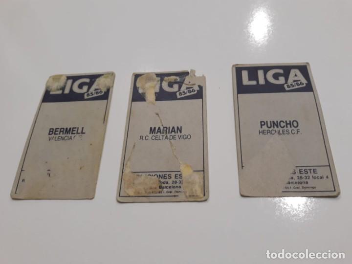 Cromos de Fútbol: Lote de 40 cromos de la liga este 1985-1986 85-86 (Ver descripción) - Foto 18 - 147112818