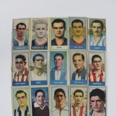 Cromos de Fútbol: CR-213 CROMOS DE FUTBOL.OBSEQUIO COMERCIAL DE LA MARCA DE CUCHILLAS PALMERA PLATINO.. Lote 147294070