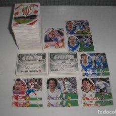 Cromos de Fútbol: ESTE 2012 - 2013 LOTE DE 550 CROMOS DISTINTOS Y SIN PEGAR (COLOCAS, FICHAJES, ERRORES, DOBLE IMAGEN). Lote 147387978