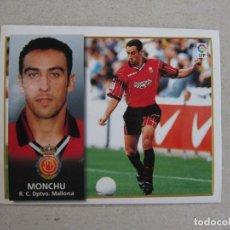Cromos de Fútbol: ESTE 98 99 BAJA MONCHU MALLORCA 1998 1999 NUNCA PEGADO. Lote 147508814