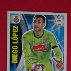 Cromos de Fútbol: ADRENALYN XL 2016 2017- Nº 145 DIEGO LOPEZ - ESPANYOL - PANINI CROMO LIGA - 16 17. Lote 147561198