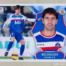 Cromos de Fútbol: BELENGER GETAFE CF CROMOS ESTE PANINI 2008 2009 08 09. Lote 147583182