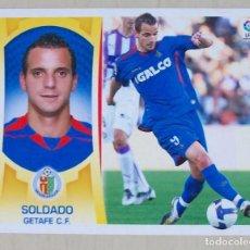 Cromos de Fútbol: SOLDADO GETAFE CF CROMOS ESTE PANINI 2009 2010 09 10. Lote 147583750