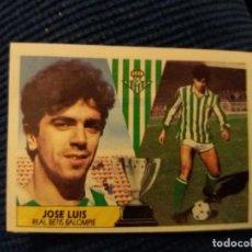 Cromos de Fútbol: D 87/88 ESTE. COLOCA REAL BETIS JOSÉ LUIS. Lote 147601074