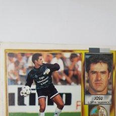 Cromos de Fútbol: LOTE 190 CROMOS LIGA ESTE 95 - 96. Lote 147646402